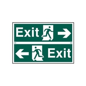 Newlec ISO Legend Arrow Left/Right LED Ceiling/Suspended Exit Sign IP20