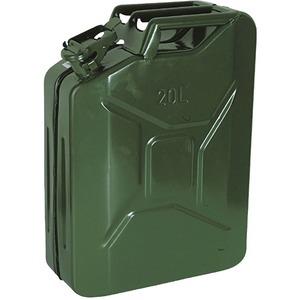 Steel Jerrican with WD Pattern 20 Litre Green