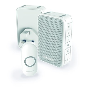 Honeywell Series-3 100/240V 80dB 6-Tune 150m Home and Garden Kit White