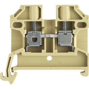 Weidmüller SAK Snap-On Feed Through Terminal Block 2.5mm² Beige