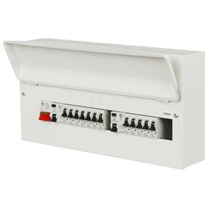 MK Electric Consumer Unit 21-Way 472 x 244 x 116mm White