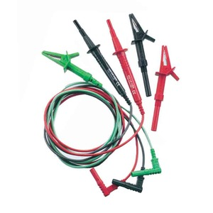 Newlec 3 Wire Fused Lead Set For MFT's