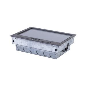 Newlec Floorbox 3 Compartment Cavity Floor Box