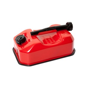 5 Litre Standard Fuel Can Metal Red