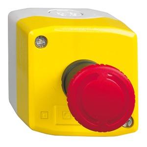 Schneider Screw Clamp Terminals Control Station 1NC 44N Yellow