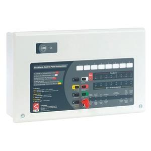 C-TEC CFP 4-Zone Conventional Fire Alarm Panel 380 x 235 x 96mm