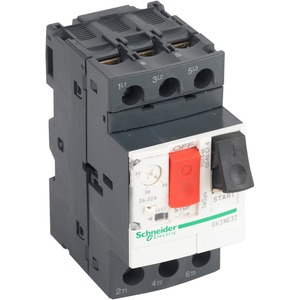 Schneider TeSys GV2 Screw Clamp Thermal-Magnetic Motor Circuit Breaker 3-Pole 24-32A