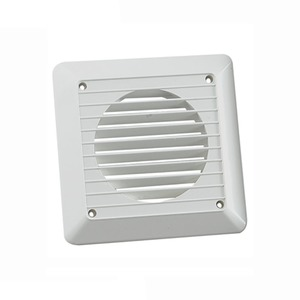 Newlec Exterior White Wall Grille 150mm