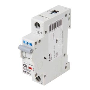 Eaton 1-Pole 16A Miniature Circuit Breaker 10/15kA 18 x 80 x 75mm