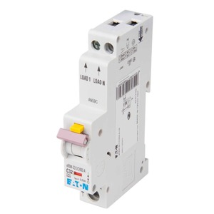 Eaton 1-Pole 32A Residual Current Circuit Breaker 10kA 17.7 x 102 x 76mm