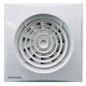 Envirovent Silent 150 230V 29W 2350RPM Whisper Quiet Kitchen & Utility Room Fan 180 x 180 x 119mm