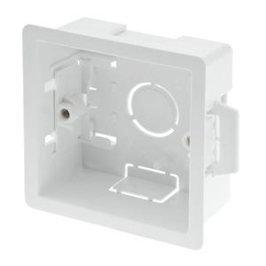 Newlec Thermoplastic Dry Lining Box 1 Gang 35mm White