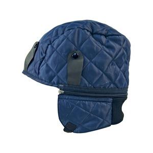 Cold Weather Safety Helmet Comforter Blue