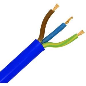 3183Y 1.5mm² 2/3-Core Arctic Grade Mains Flex Cable 50-100m Blue