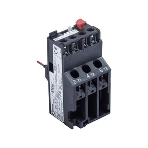 Newlec Overload Relay 5.5 to 8A Black
