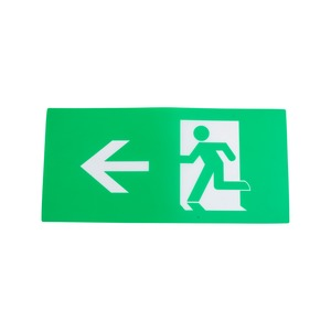 Newlec ISO Legend Arrow Left/Right LED Wall Exit Sign IP20