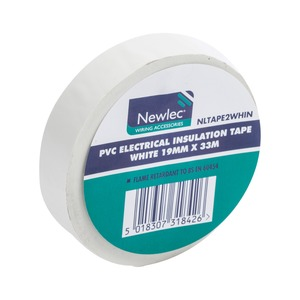 PVC Insulation Tape 33m White