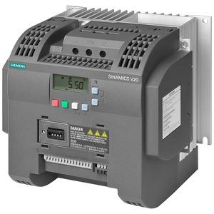 Siemens SINAMICS V20 Inverter Drive 3kW 200-240V AC Integrated Filter C2 I/O Interface