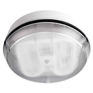 Fern-Howard Columbus 28W 2150lm Bulkhead Luminaire with Clear Diffuser 3500K