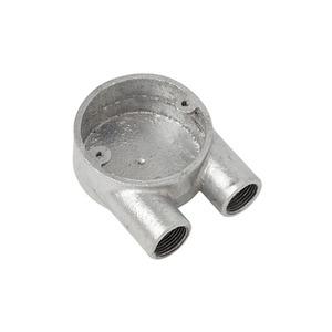 Malleable Steel Galvanised U-Conduit Box 20mm
