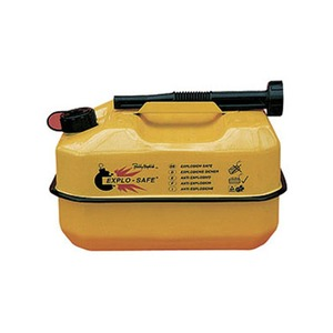 10 Litre Explo-Safe Fuel Can Steel Yellow