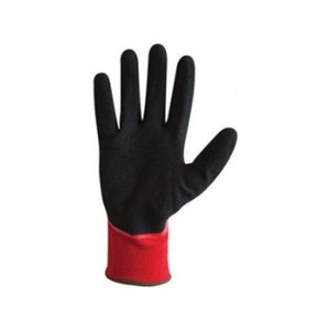 Grip-It Oil Seamless Fully Coated Nitrile Glove Size 8 Red