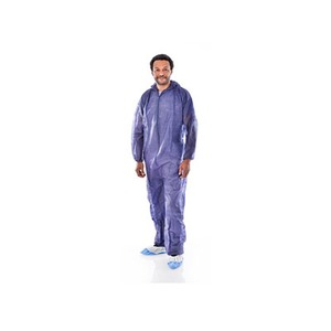 Short Life Coverall Large Blue