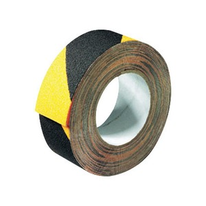 Anti-Slip Safety Tape 50mm x 18m Black/Yellow