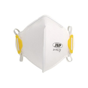 Olympus FFP2 Vertical Fold-Flat Dust Mask without Valve White (Pack of 20)