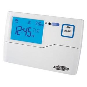 Timeguard 230V 3A SPDT Digital Programastat 135 x 90 x 30mm White