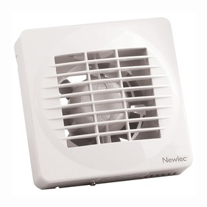 Newlec Standard 100mm Fan with Timer