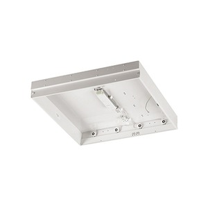 Newlec T8 High Frequency Recessed Body Only Luminaire IP20 4 x 18W