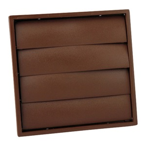 Newlec Gravity Brown Wall Grille 100mm
