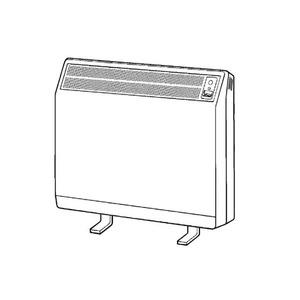 Dimplex CXLS 23.8kWh Combi Auto Storage Heater Willow White/Birch grey
