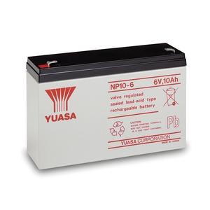 Yuasa 6V 10Ah Lead Acid Battery 151 x 50 x 97.5mm
