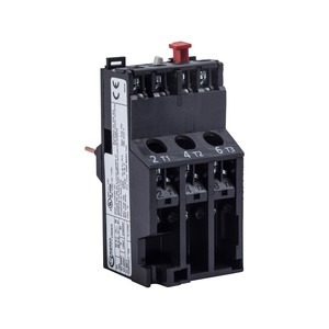 Newlec Overload Relay 2.5 to 4A Black