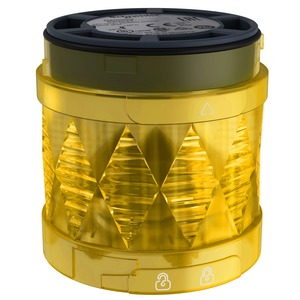 Schneider Harmony Steady Illuminated LED Unit 24V AC/DC 60mm Yellow