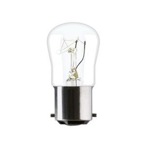 GE PYGMY Incandescent Lamp B15d 15W 240V 2290K 28 x 55mm
