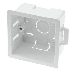 Newlec Thermoplastic Dry Lining Box 1 Gang 47mm White