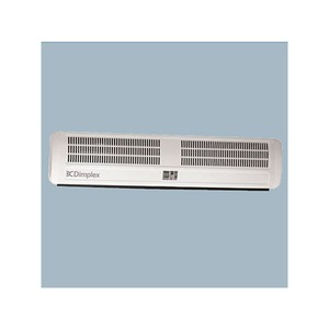 Dimplex 6kW 230V 1PN Pressed Steel Powder Coat Overdoor Heater with Integrated Controls White