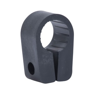 Newlec Heavy Duty Cable Cleats 17.8mm Black