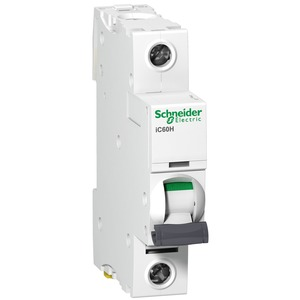 Schneider Acti9 iC60H 1-Pole 10A Curve-C Miniature Circuit Breaker 10/15kA