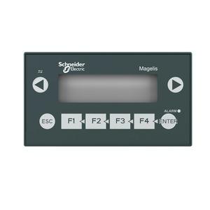 Schneider Magelis XBTN401 Small Matrix Screen Panel with Keypad 24V 132 x 74 x 43mm 380g