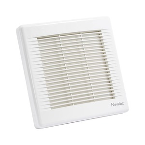 Newlec Commercial 230mm Fan with Automatic Shutter