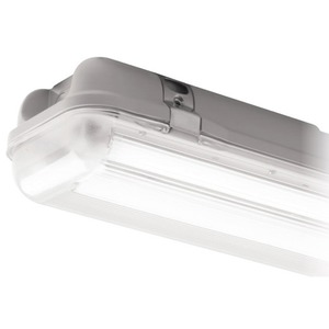 Luceco Climate Plus 97W 8700lm Twin LED array with Standard Driver 4000K Grey