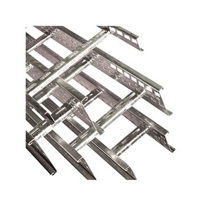 Swifts Medium Duty Hot Dip Galvanised Steel Cable Ladder 3m x 600 x 100mm