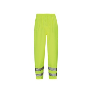 Viking Breathable Class 1 Polyester Overtrousers Large Yellow