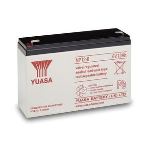 Yuasa 6V 12Ah Lead Acid Battery 151 x 50 x 97.5mm