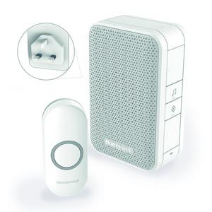 Honeywell Series-3 100/240V 80dB 4-Tune 150m Wirefree Chime Kit White