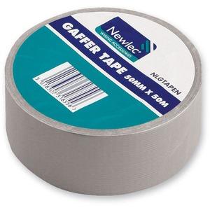 Newlec Gaffer Tape 50m Silver